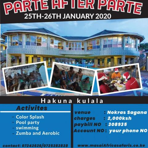 Singles Parte after Parte- Hakuna Kulala