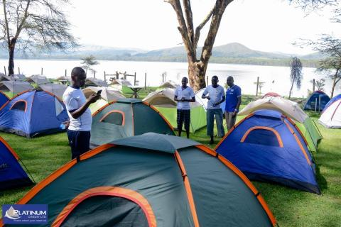 Camping Team Building Packages