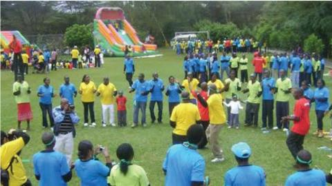 Corporate Sports Day